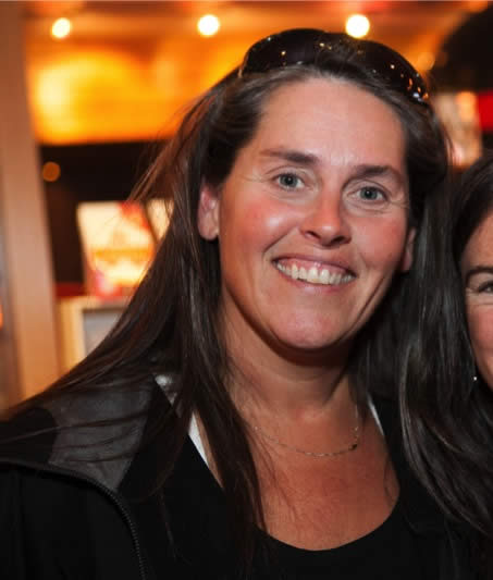 Cecilia HERNSKOG, from Sweden, former member of Freestyle ski team